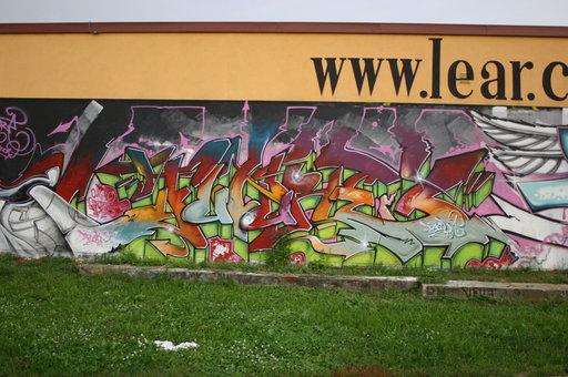 Odstranění graffiti, čištění fasád Praha